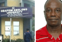 OAU 'sex-for-marks' lecturer, Richard Akindele sentenced to two years in prison