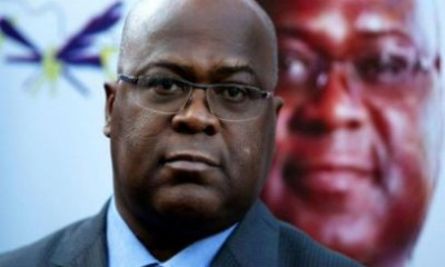 Felix Tshisekedi wins Presidential election in Congo