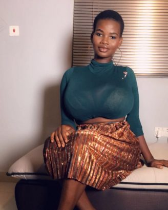 Pamela Watara reported to posses the biggest breasts