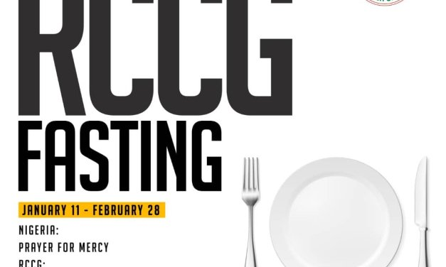 RCCG Fasting Prayer Points for 14 February 2019 – Day 35