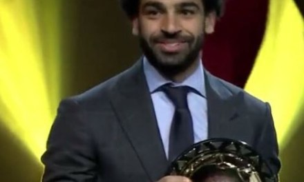 Salah wins 2018 CAF African Player of the Year for the second time in a row