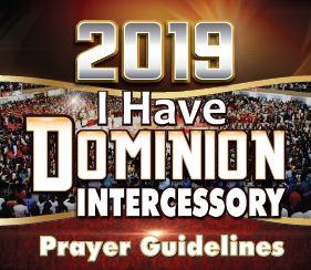 Winners' Intercessory Prayer Guidelines 2019