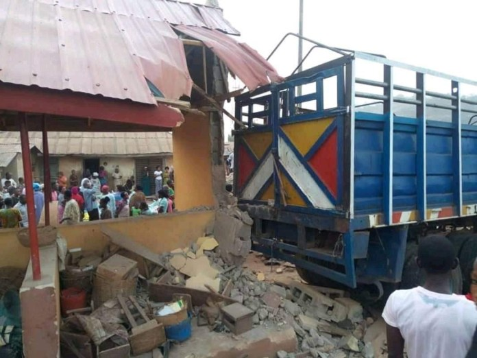 Truck carrying APC-branded bags of rice crushes dozens to death in Ekiti