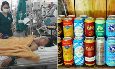15 cans of beer used by doctors to stop man from dying
