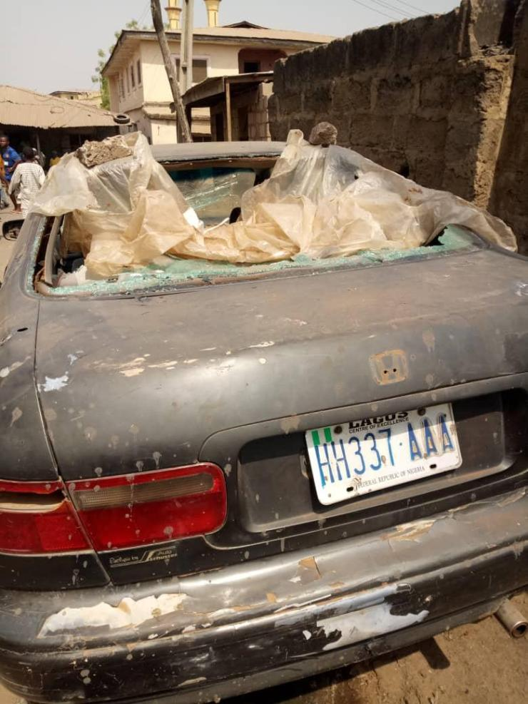 Thugs attack Saraki's residence in Ilorin (Photos)