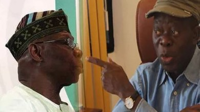Adams Oshiomhole attacks Obasanjo