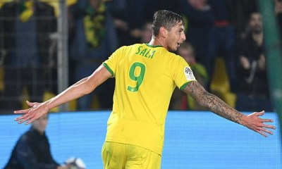 Nantes have retired their No 9 jersey in honour of former striker Emiliano Sala, whose body was recovered from the plane wreckage
