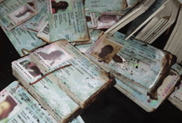 Uncollected PVCs set ablaze as hoodlums attack INEC office in Abia