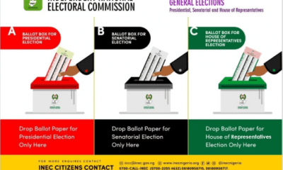 INEC releases ballot boxes sample for presidential, senatorial, Reps elections