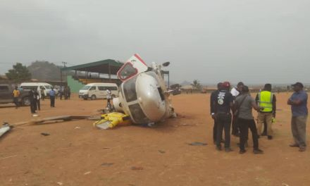 Video of Osinbajo's helicopter crash emerges