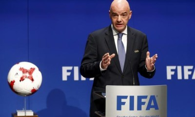 Gianni Infantino to remain FIFA president for four more years