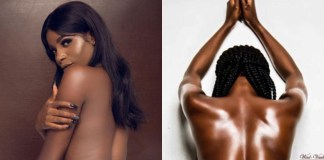Lady celebrates 23rd birthday by going completely naked