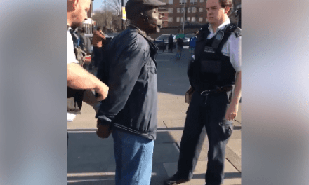 Man arrested for preaching on the streets of London (video)