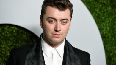 British Gay singer Sam Smith