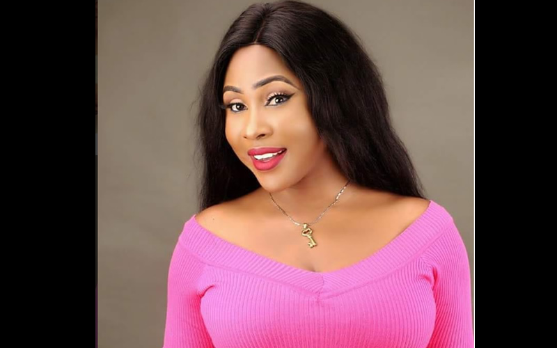 Nollywood actress, Nnaji Charity gets a new SUV from a fan