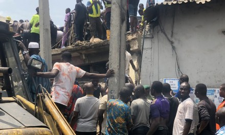 Breaking: 7 School Pupils, 12 Adults rescued alive from Lagos building collapse