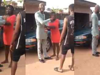 Prostitute embarrasses man in public