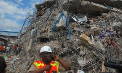 Ibadan collapsed building
