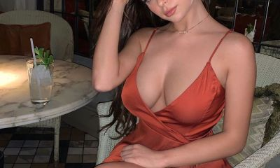 Braless Demi Rose
