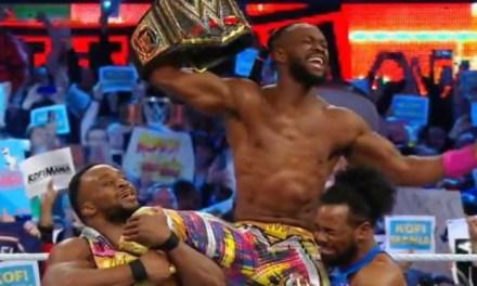 Kofi Kingston becomes the first ever black man to emerge WWE champion