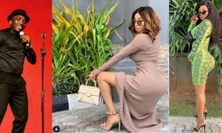 Toke Makinwa blasts Bovi for joking about her backside