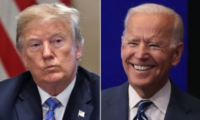 Trump sends 'get well' message to injured Biden