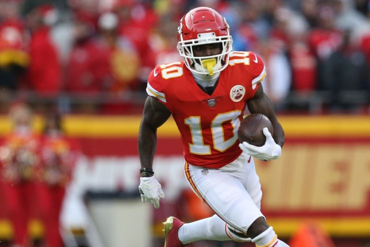 Tyreek Hill Audio Leads To Calls For His NFL Banishment