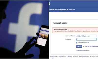 Facebook disables billions of accounts
