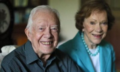 Jimmy Carter goes for surgery after breaking his hip