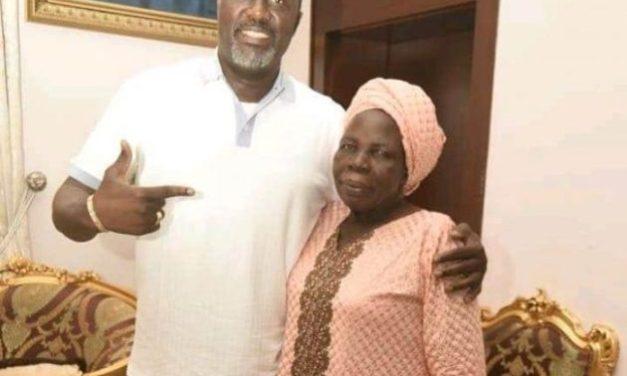 Dino Melaye's mother is dead