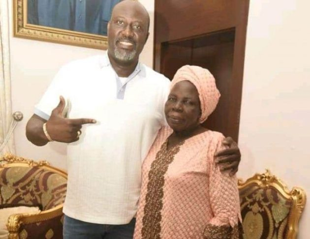 Dino melaye's mother is dead