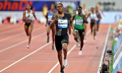 intersex athlete Caster Semenya