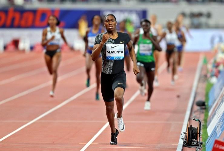 intersex athlete Caster Semenya