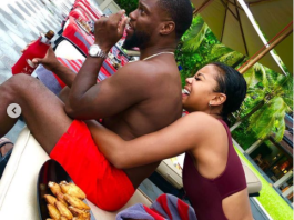 Photos of Kevin Hart and his wife Eniko