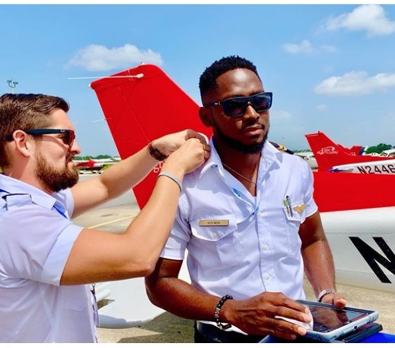 Miracle Ikechukwu is certified as an Instrument Rated pilot