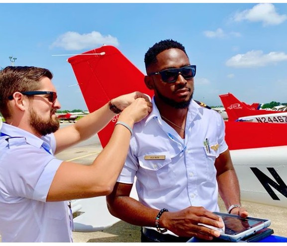 BBNaija 2018 winner, Miracle Ikechukwu is certified as an Instrument Rated pilot