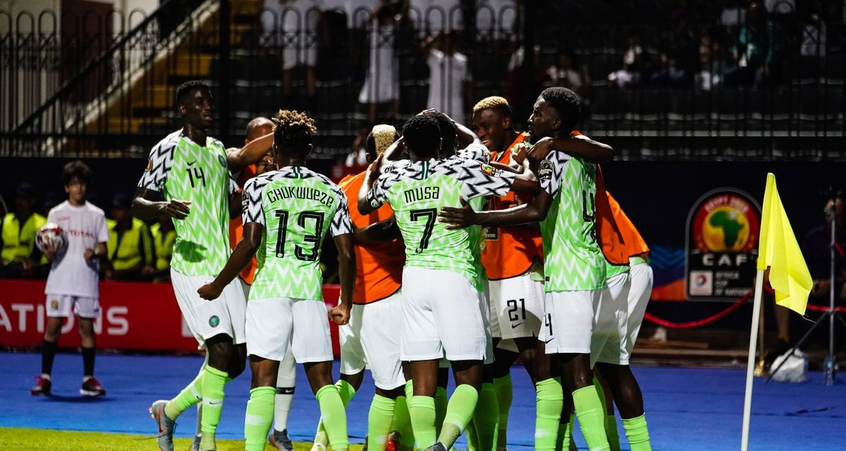 Nigeria becomes the first team to qualify for the round of 16 at 2019 AFCON after thrashing Guinea 1 – 0