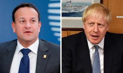 British and Irish leaders clash over Brexit