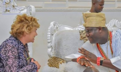 British High Commissioner Catriona Laing visits Ooni Of Ife