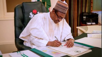 President Buhari deploys permanent secretaries [Full list]