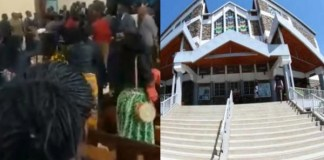 Kenyan pastor beaten in church by members