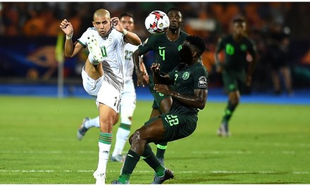 Breaking: Nigeria crashed out of AFCON 2019