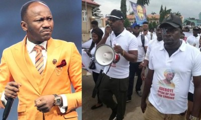Apostle Suleman slams Eedris Abdulkareem and Baba Fryo over protest against Pastor Adeboye