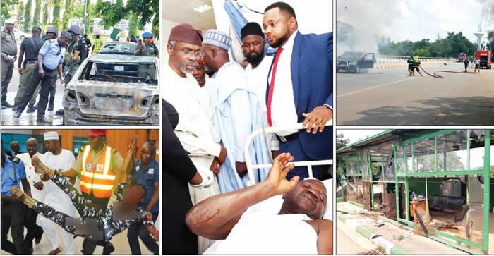 Shi'ites attack National Assembly, shoot policemen