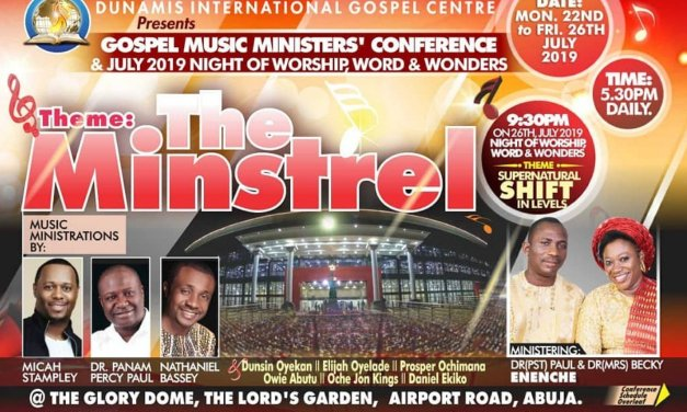 Dunamis Gospel Music Ministers' Conference – The Minstrel