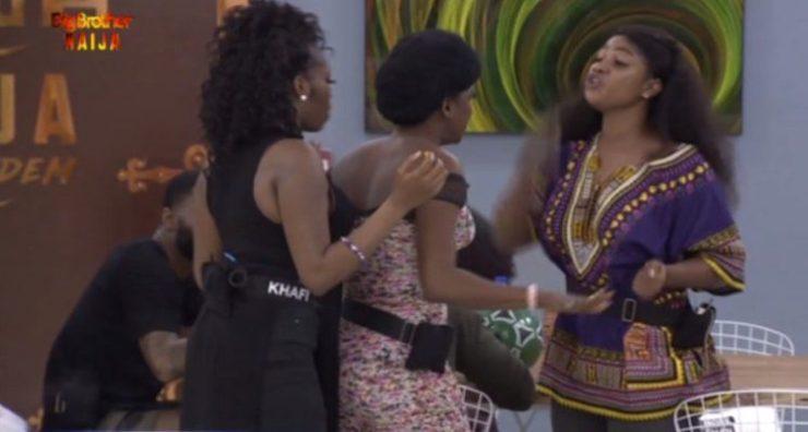 Thelma and Tacha fight