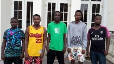 Five internet fraudsters bag 6 months jail sentence in Calabar