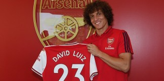 Arsenal complete signing of David Luiz from Chelsea