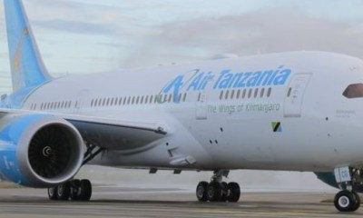 South African government seizes a plane belonging to Air Tanzania