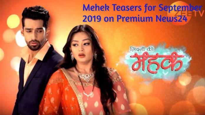 Mehek Teasers for September 2019 - Zee World